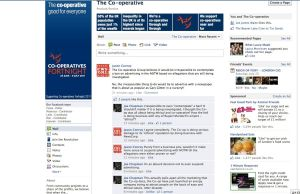 Co-Op Facebook Page Screen Grab