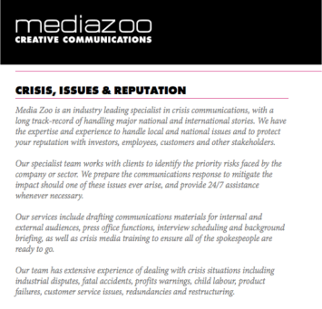 Media Zoo child labour