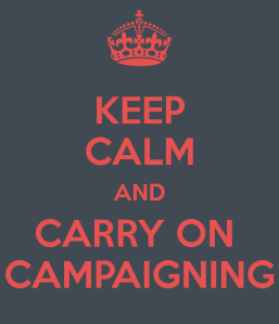 PRCA keep calm carry on